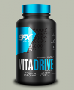 MULTIVITAMIN VITA DRIVE 120 capsule di All American EFX su integratorisportebenessere.it